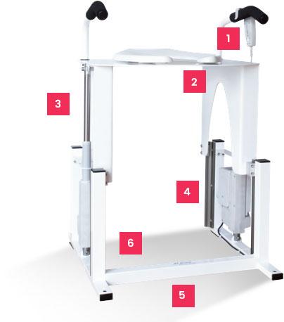 Vertica Lift Seat
